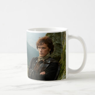 Reclining Jamie Fraser photograph Basic White Mug
