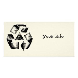 Recycle Eye Customised Photo Card