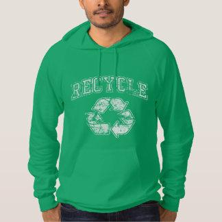Recycle Symbol Earth Day Hooded Sweatshirt