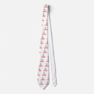 RED AND BLACK QUEEN ZEN MEDITATION AND INTUITION TIE