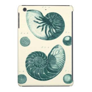 Red and Green Seashell Art iPad Mini Retina Cases