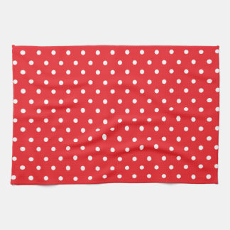 Red and White Polkadot Towels