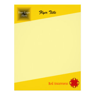 Red Clover Ribbon 21.5 Cm X 28 Cm Flyer