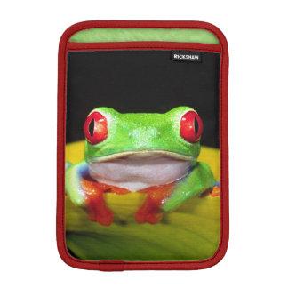 Red Eye Treefrog, Agalychinis callidryas, Native iPad Mini Sleeves