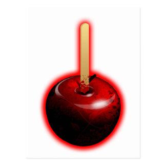 Red Shiny Apple -  Forbidden Fruit Postcard