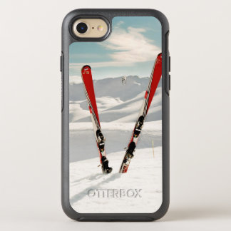 Red Skis OtterBox Symmetry iPhone 7 Case