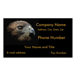 Red-tail Hawk pastel Pack Of Standard Business Cards
