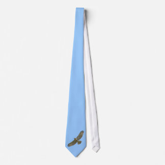 red-tail soaring tie