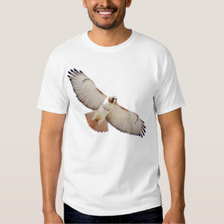 Red-Tailed Hawk In Flight T-shirt