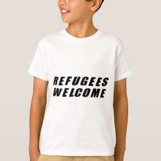 Refugees Welcome Shirts