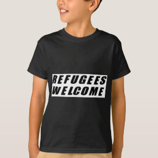 Refugees Welcome T Shirts
