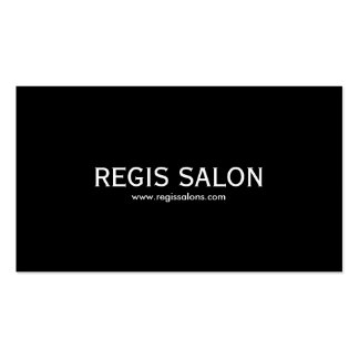 REGIS SALON, www.regissalons.com Pack Of Standard Business Cards