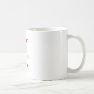 Reject the Rejector Basic White Mug