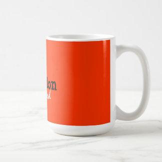 rejection addicted basic white mug