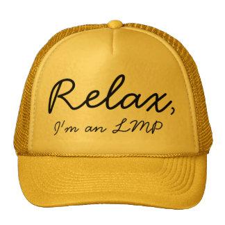 Relax, I'm a massage therapist! Cap