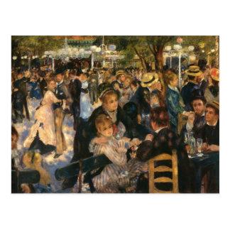 Renoir's Bal du   de la Galette (1876) Postcard