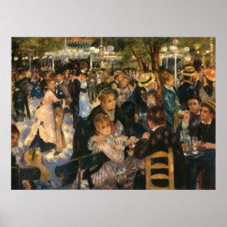 Renoir's Bal du   de la Galette (1876) Poster