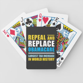 Repeal And Replace Obamacare Poker Deck