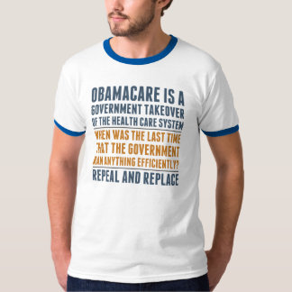 Repeal And Replace Obamacare T-shirt