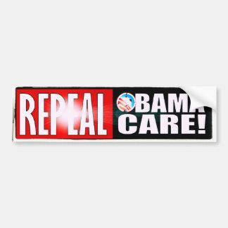 REPEAL OBAMA CARE OBAMACARE BUMPER STICKER