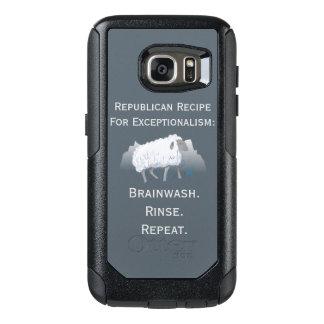 Republican 'Exceptionalism': Brainwash OtterBox Samsung Galaxy S7 Case