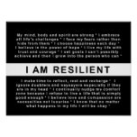 RESILIENCE MOTIVATIONAL POSTER
