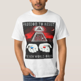 Resist The New World Order Tshirt