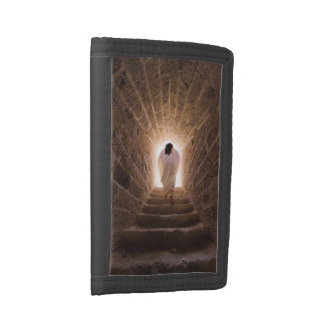 Resurrection of Jesus Christ Tri-fold Wallets