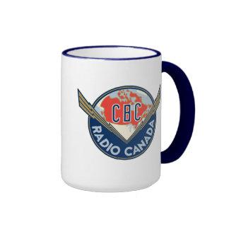 Retro 1940-1958 ringer mug