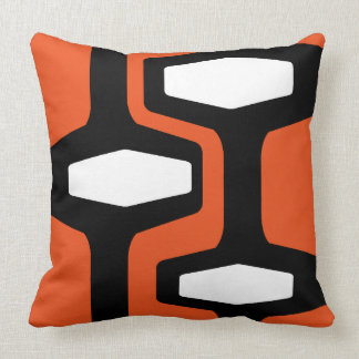 Retro Architecture Throw Cushions