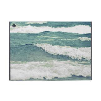 Retro Beautiful Lake Michigan Beach Surf Waves iPad Mini Covers