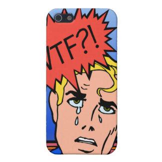 Retro Comic Book iPhone Case iPhone 5 Cases