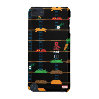 Retro Deadpool Taco Video Game iPod Touch 5G Cases
