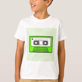 "Retro Green 80""s Mixtape Tee Shirt"