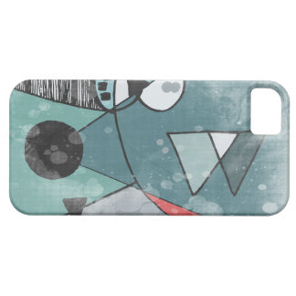 Retro Mid Century Space Age Design iPhone Case