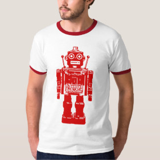 Retro Robot Tee Shirt