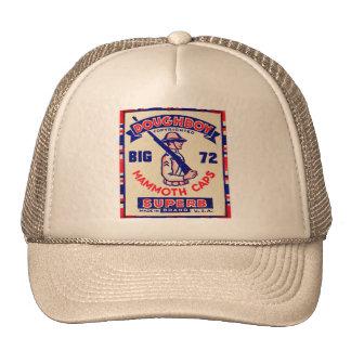 Retro Vintage Kitsch Doughboy Mammoth Caps Cap