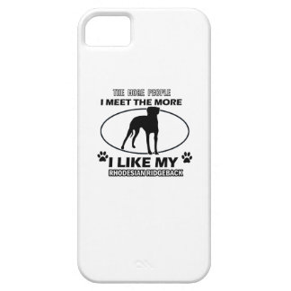 Rhodesian Ridgeback designs and gifts Barely There iPhone 5 Case