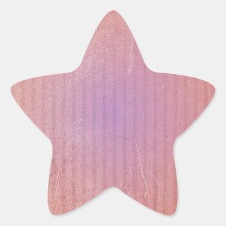 Rice paper lamp star sticker
