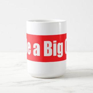 Ride A Big One Basic White Mug