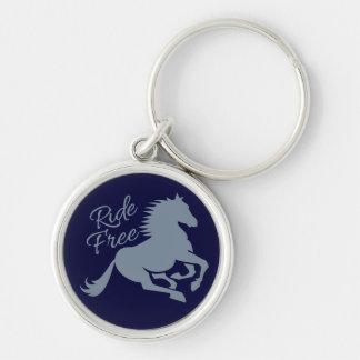 Ride Free custom key chain