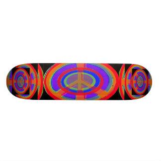 Rings of Peace 19.7 Cm Skateboard Deck