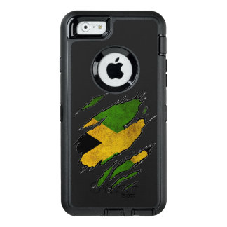 Ripped Flag of Jamaica OtterBox iPhone 6/6s Case