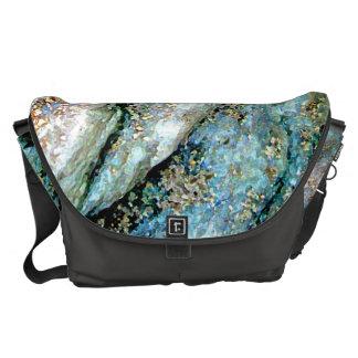 Rippled Rock Large Messenger Bag