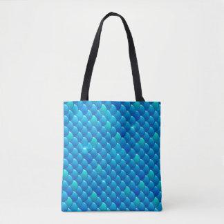 river fish scales tote bag