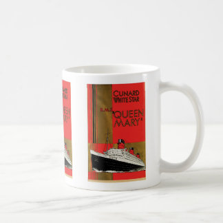 RMS Queen Mary Basic White Mug