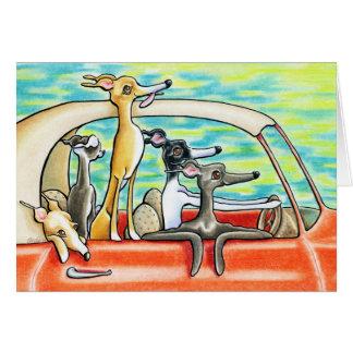 Road Trip by Andie Greeting Card
