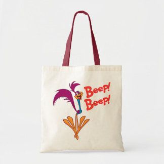 Roadrunner Side Profile Budget Tote Bag