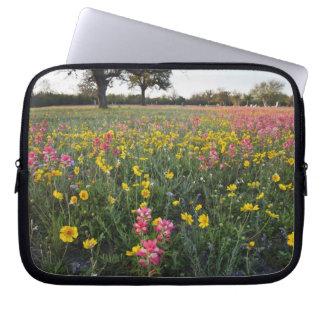 Roadside wildflowers in Texas, spring 3 Laptop Computer Sleeve