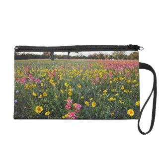 Roadside wildflowers in Texas, spring 3 Wristlet Purses